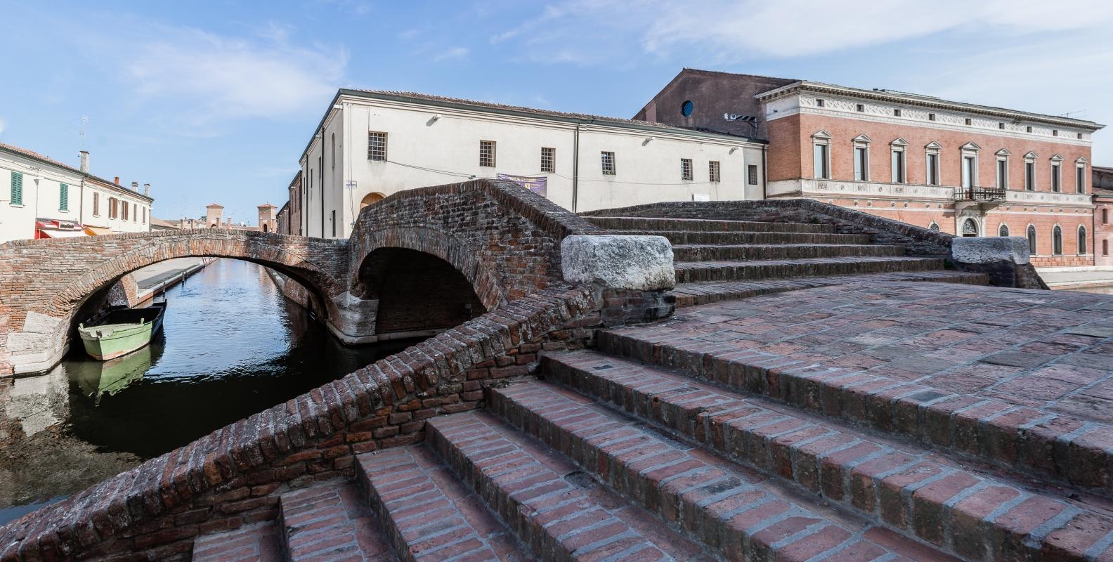 Panoramica dal Ponte degli Sbirri - Vanni Lazzari - Comacchio (FE)