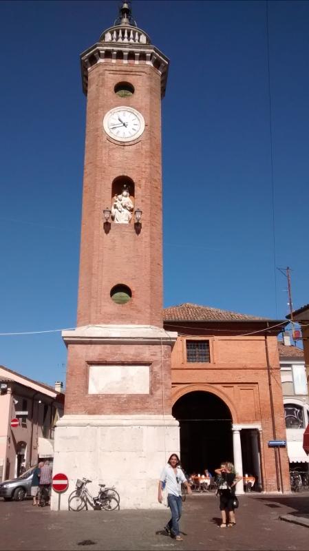 La torre di fronte - Marmarygra - Comacchio (FE)