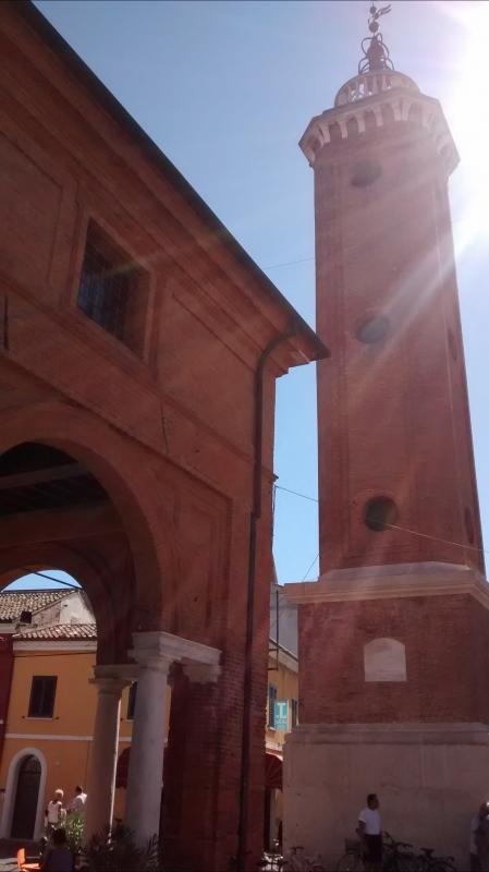 La torre controluce - Marmarygra - Comacchio (FE)