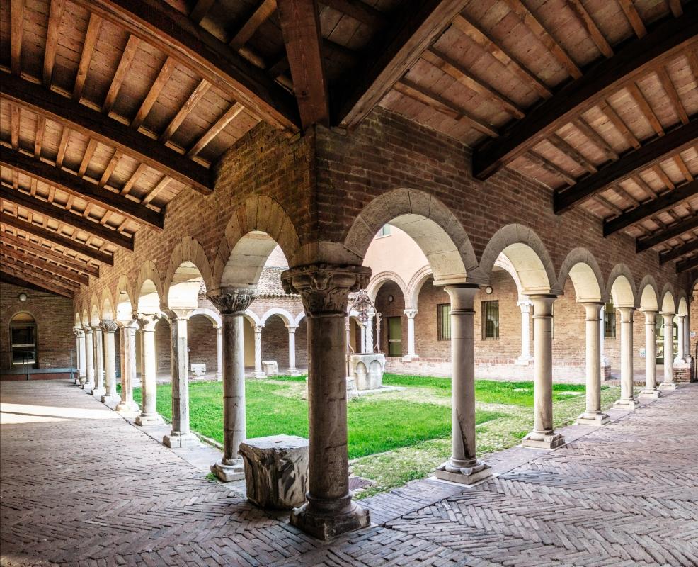 Museo della cattedrale (Ferrara) - Chiostro - Vanni Lazzari - Ferrara (FE)