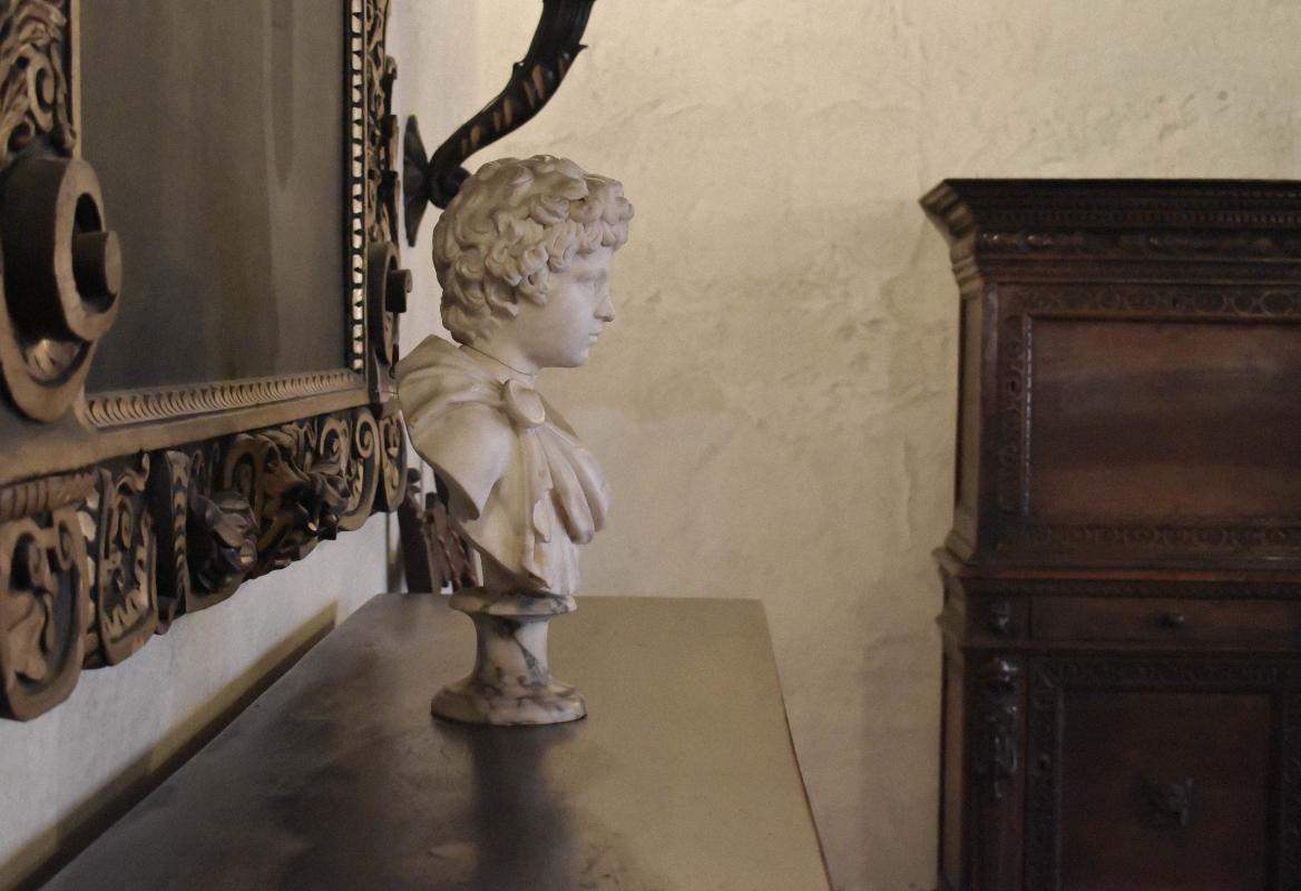 Ritratto di fanciullo (Lucio Vero ?), Palazzina di Marfisa d'Este - Nicola Quirico - Ferrara (FE)