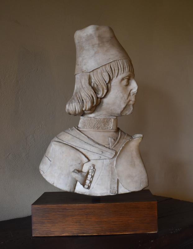 Sperandio Savelli, Ercole I d'Este, 1475, Palazzina di Marfisa d'Este 01 - Nicola Quirico - Ferrara (FE)