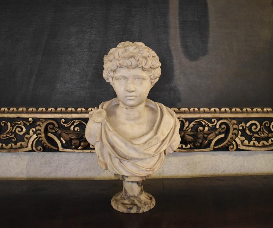 Ritratto di fanciullo (Lucio Vero ?), Palazzina di Marfisa d'Este 01 - Nicola Quirico - Ferrara (FE)