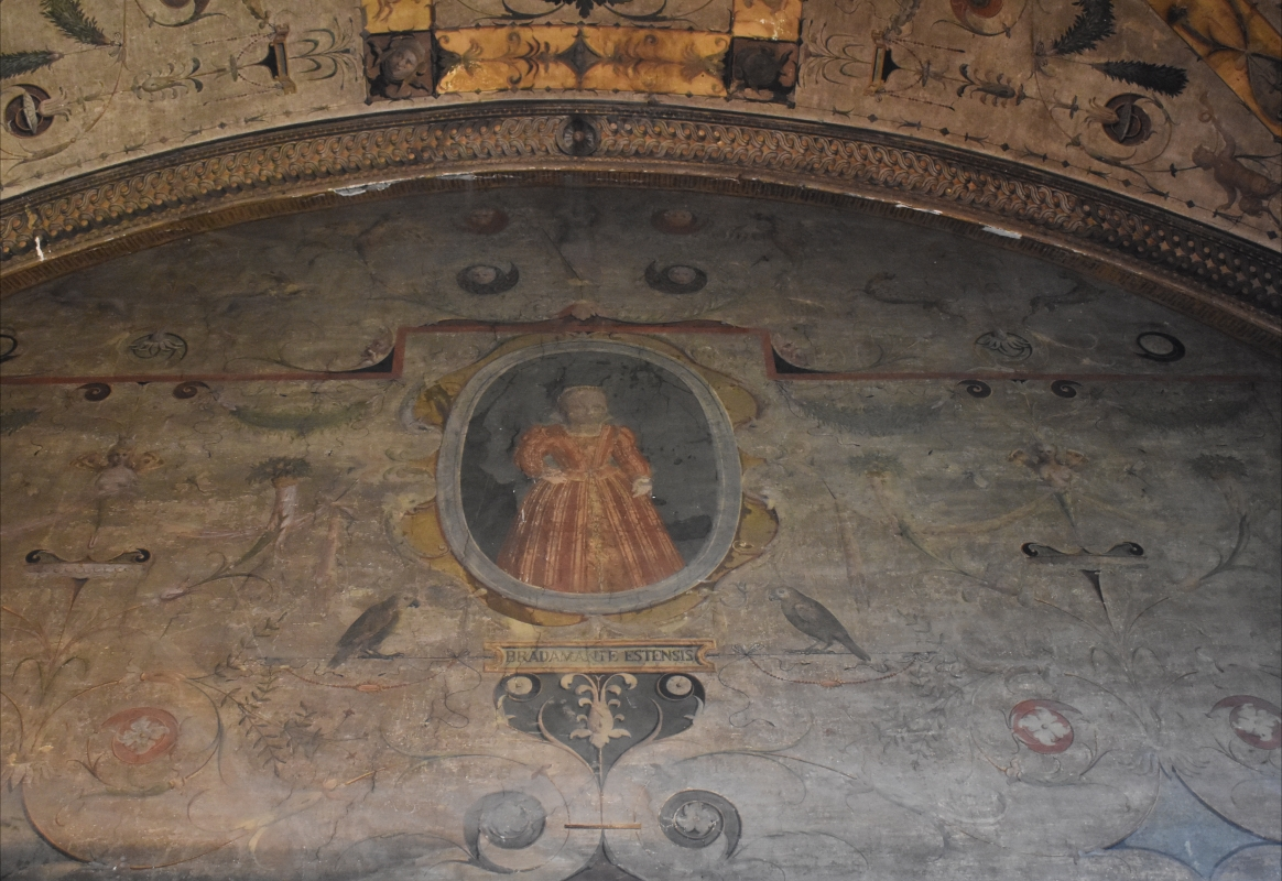 Camillo Filippi (attribuito), ritratto di Bradamante d'Este, Palazzina di Marfisa d'Este - Nicola Quirico - Ferrara (FE)