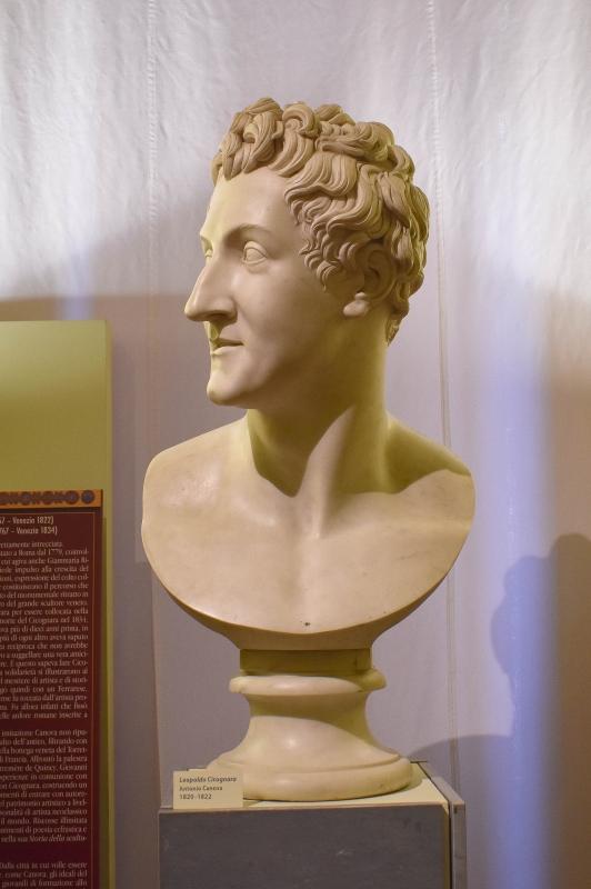 Antonio Canova Busto di Leopoldo Cicognara Palazzo Bonacossi (Ferrara) - Nicola Quirico - Ferrara (FE)