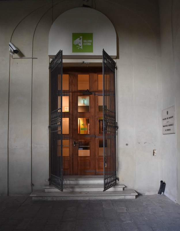 Ingresso pinacoteca nazionale palazzo Diamanti Ferrara 01 - Nicola Quirico - Ferrara (FE)