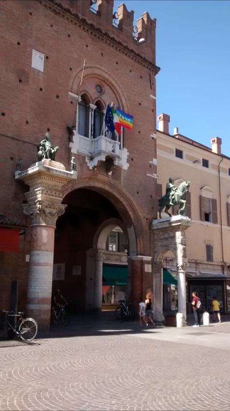 Dettaglio ingresso - Marmarygra - Ferrara (FE)