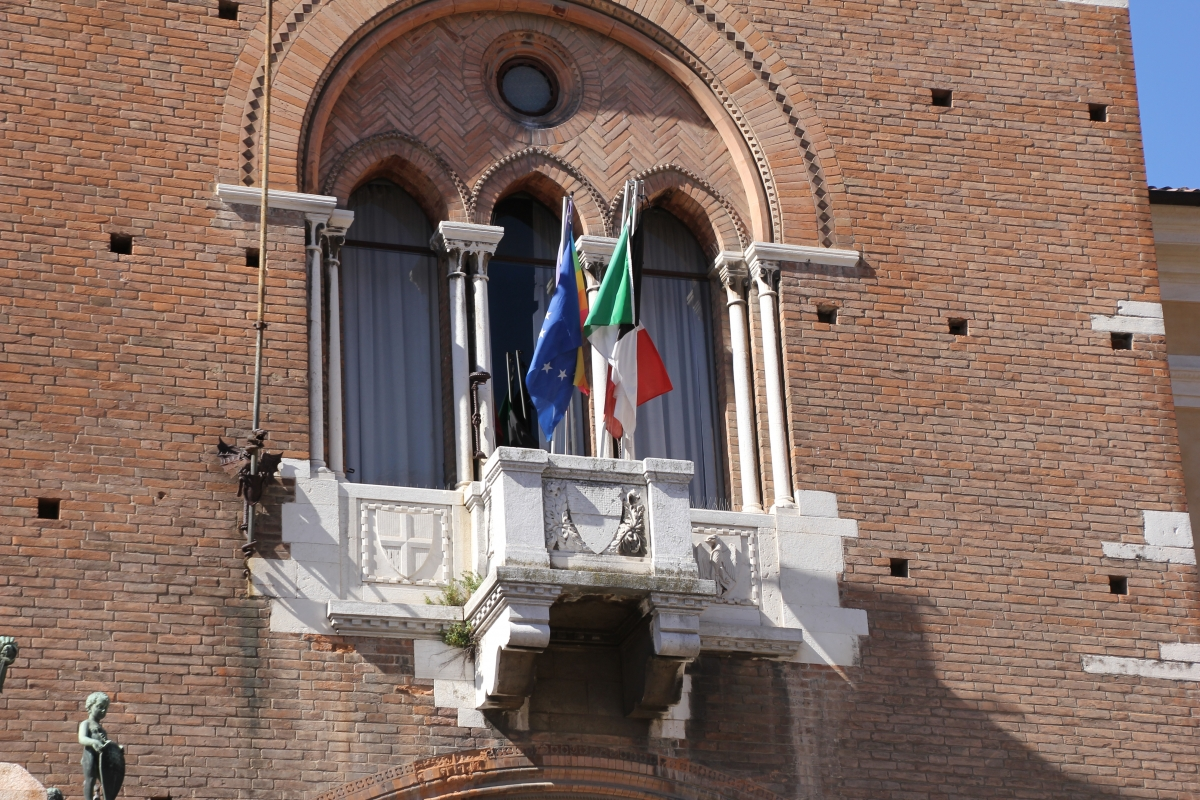 Ferrara, palazzo municipale (09) - Gianni Careddu - Ferrara (FE)