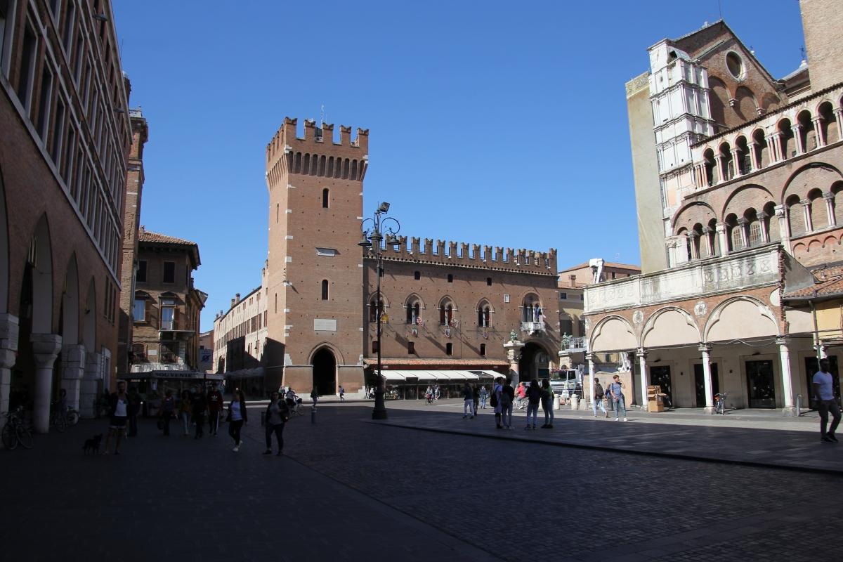 Ferrara, palazzo municipale (01) - Gianni Careddu - Ferrara (FE)