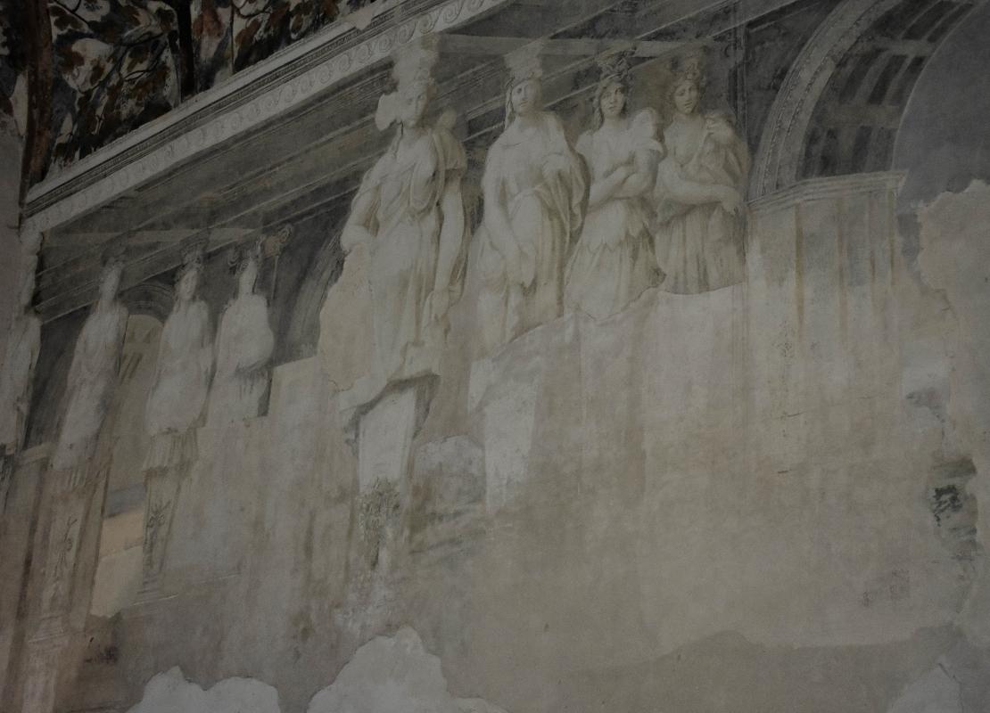 Delizia di Belriguardo (Ferrara) - Sala della Vigna16 - Nicola Quirico - Voghiera (FE)