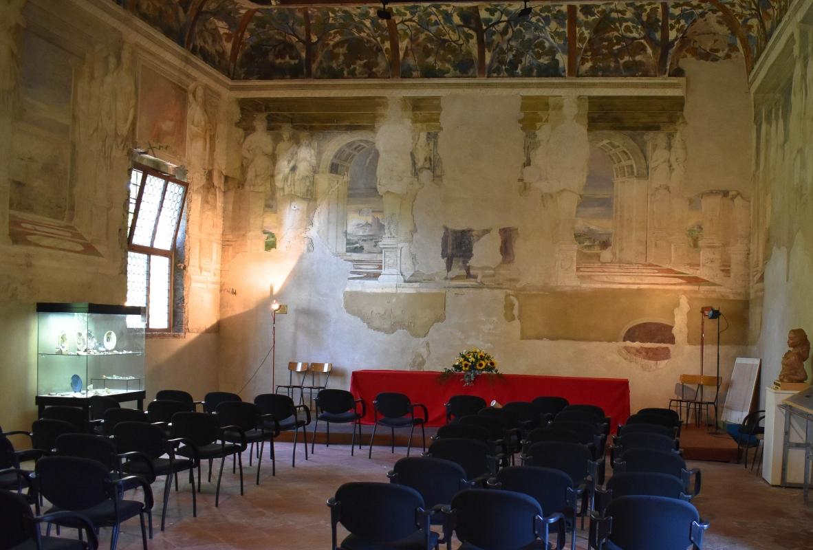 Delizia di Belriguardo (Ferrara) - Sala della Vigna 00 - Nicola Quirico - Voghiera (FE)