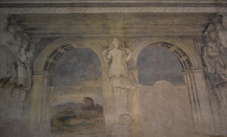 Delizia di Belriguardo (Ferrara) - Sala della Vigna 02 - Nicola Quirico - Voghiera (FE)