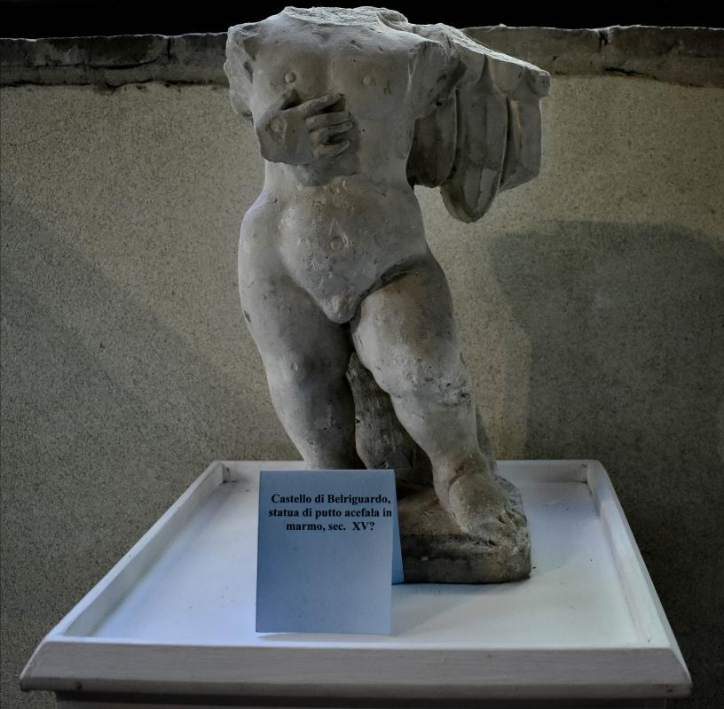 Statua di putto acefala, Sala della Vigna, Delizia di Belriguardo - Nicola Quirico - Voghiera (FE)
