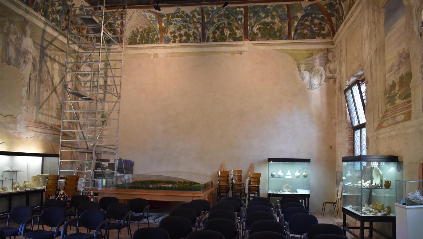 Delizia di Belriguardo (Ferrara) - Sala della Vigna 01 - Nicola Quirico - Voghiera (FE)