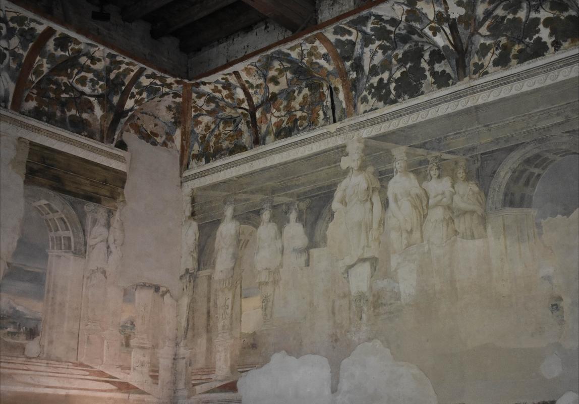 Delizia di Belriguardo (Ferrara) - Sala della Vigna14 - Nicola Quirico - Voghiera (FE)