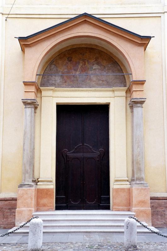 Portone della chiesa di Santa Maria delle Assi - Massimiliano Marsiglietti - Modena (MO)