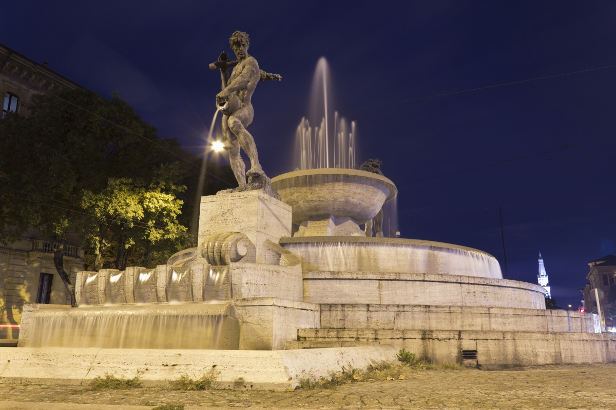 Fontana dei due fiumi 2 - Gabrielegessani - Modena (MO)