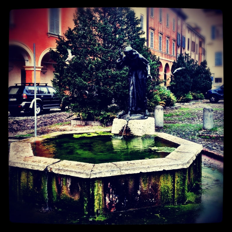Fountain of Saint Francesco - Tiziana Lauro - Modena (MO)