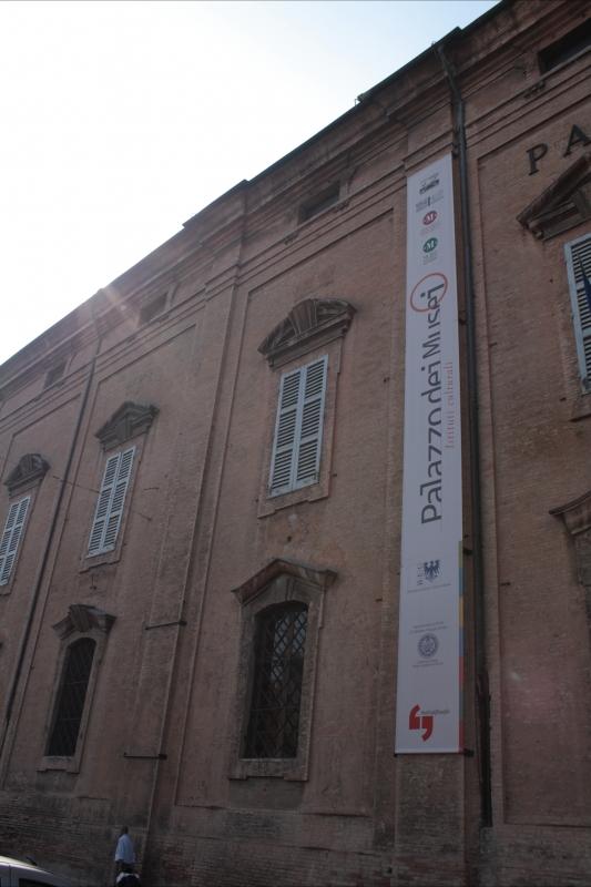 Palazzo dei musei - Luce&nebbia - Modena (MO)