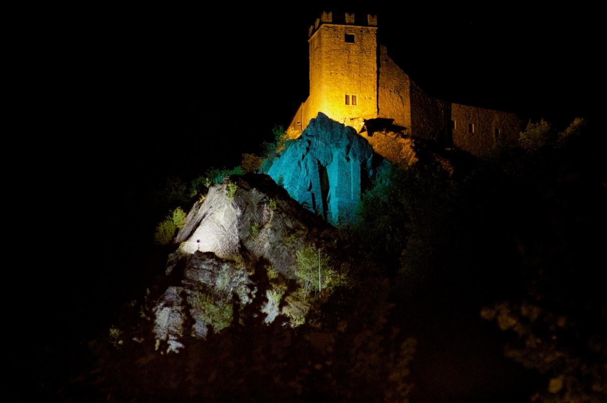 Castello di Sestola (vista notturna) - Massimiliano Marsiglietti - Sestola (MO)