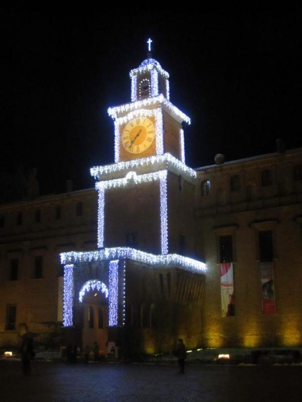Palazzo dei Pio luci di Natale - Leocreo - Carpi (MO)