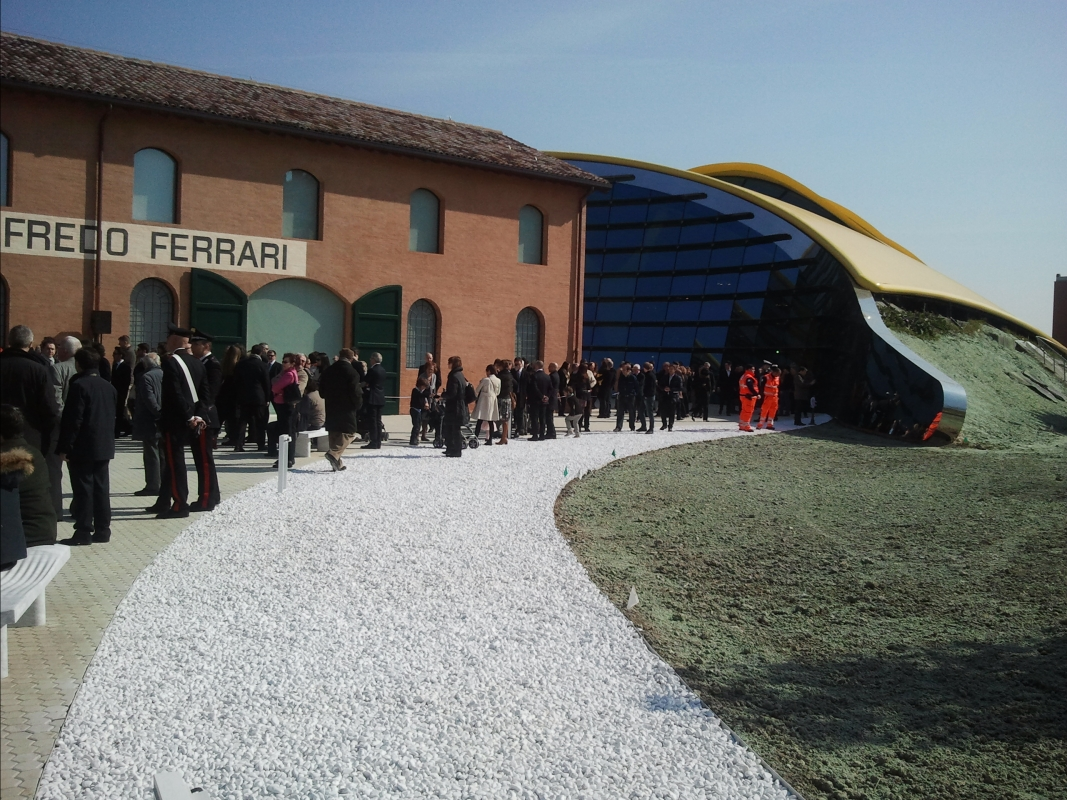 Museo Casa Enzo Ferrari Inauguration - Alien life form - Modena (MO)