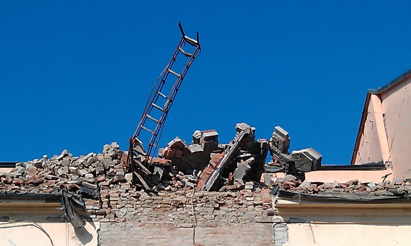 Novi di Modena, Piazza I Maggio, Torre Civica - Francesca Ferrari - Novi di Modena (MO)
