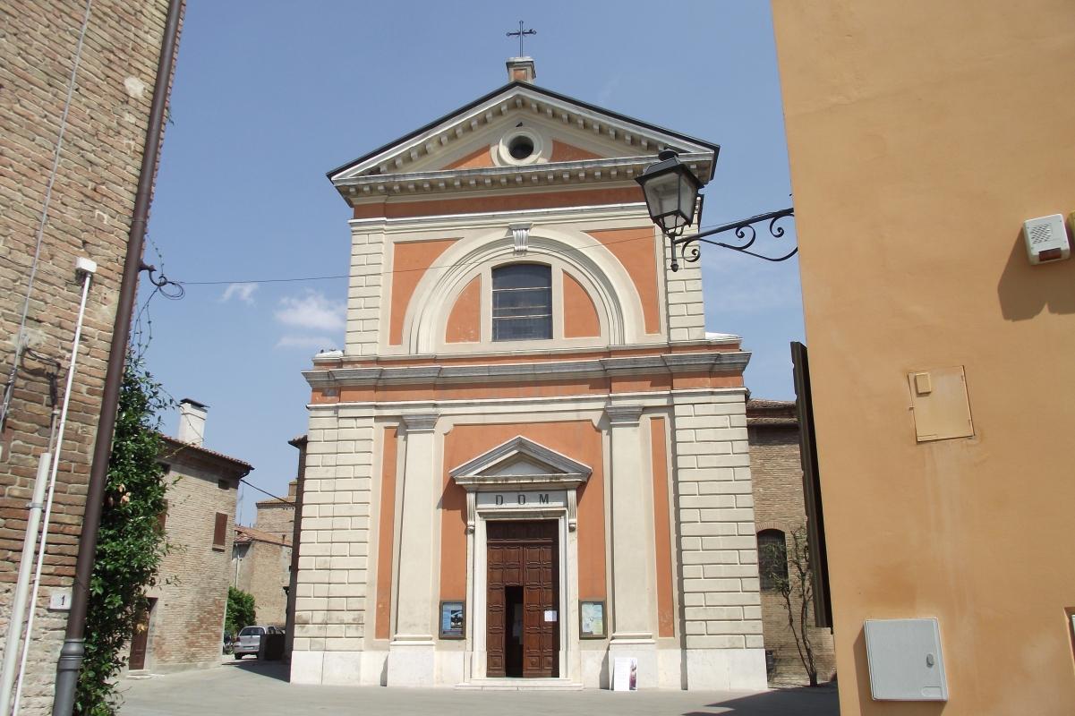 Scorcio della Chiesa Parrocchiale di San Felice Vescovo Martire - Tommaso Trombetta - San Felice sul Panaro (MO)