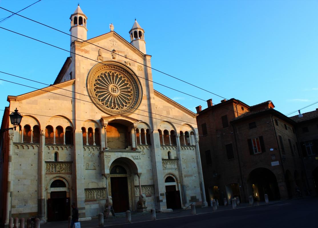 Tramonto su facciata - BeaDominianni - Modena (MO)