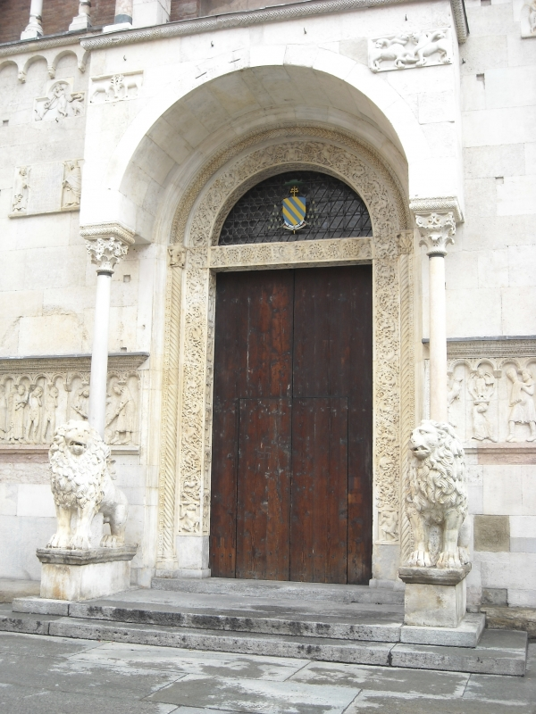 Duomo di Modena, portale centrale - Giuch86 - Modena (MO)