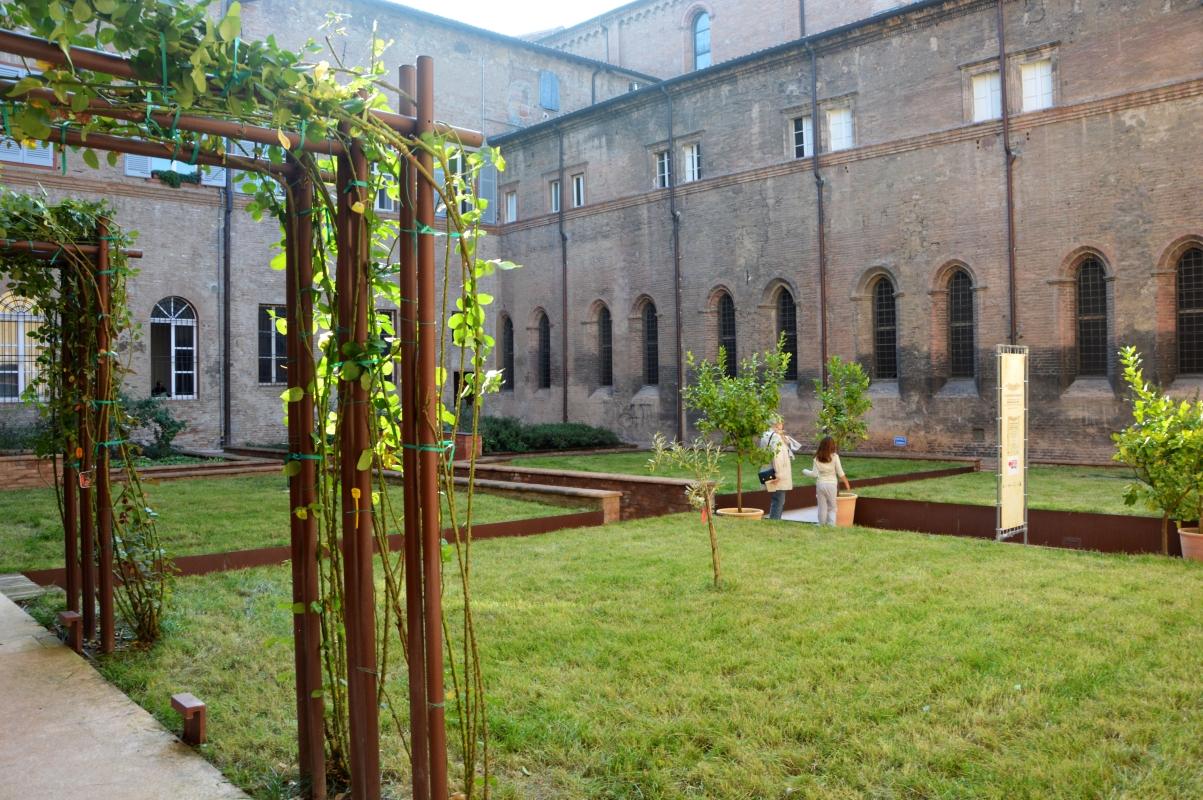 La struttura dell'Orto dei Semplici - Valeriamaramotti - Modena (MO)