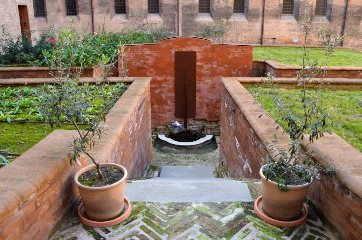 Veduta delle coltivazioni e della fontana - Valeriamaramotti - Modena (MO)