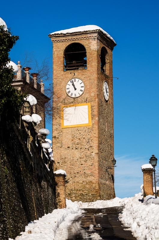 Torre dell'orologio - Piazza Roma - Loris.tagliazucchi - Castelvetro di Modena (MO)