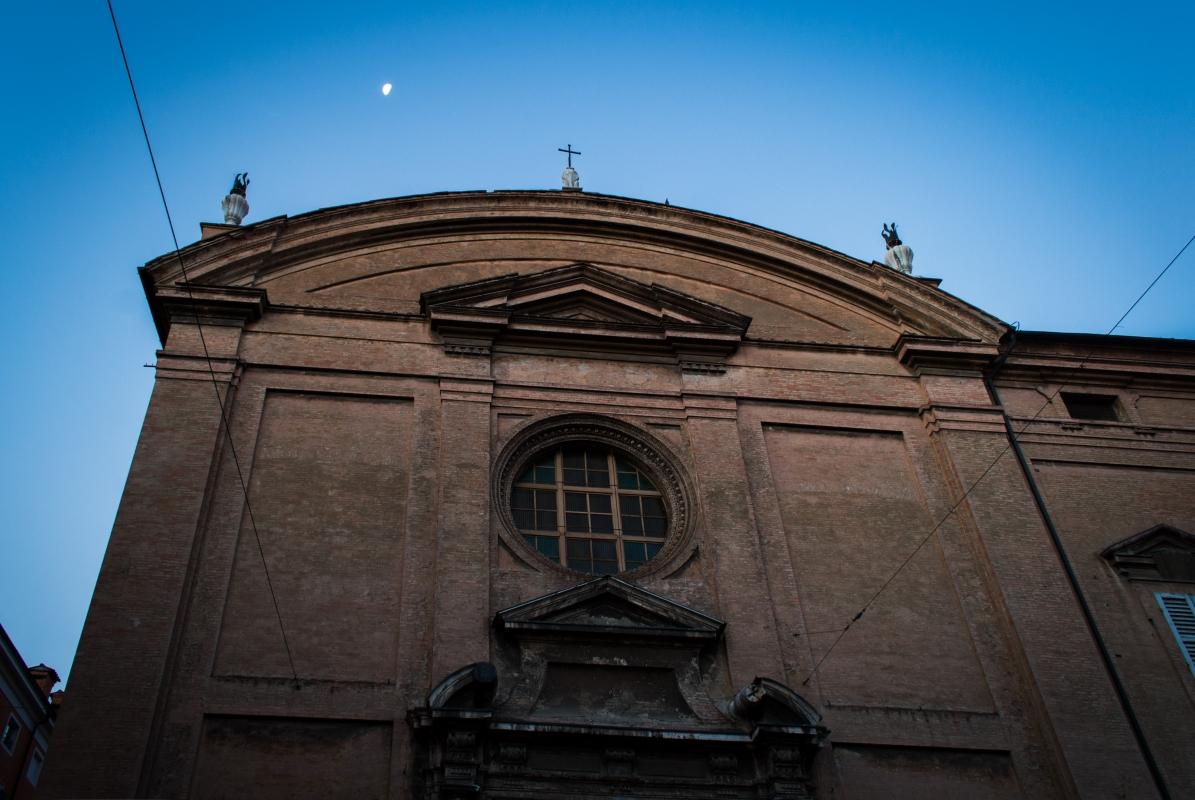 Facciata della Chiesa di sant agostino - Alessandro mazzucchi - Modena (MO)