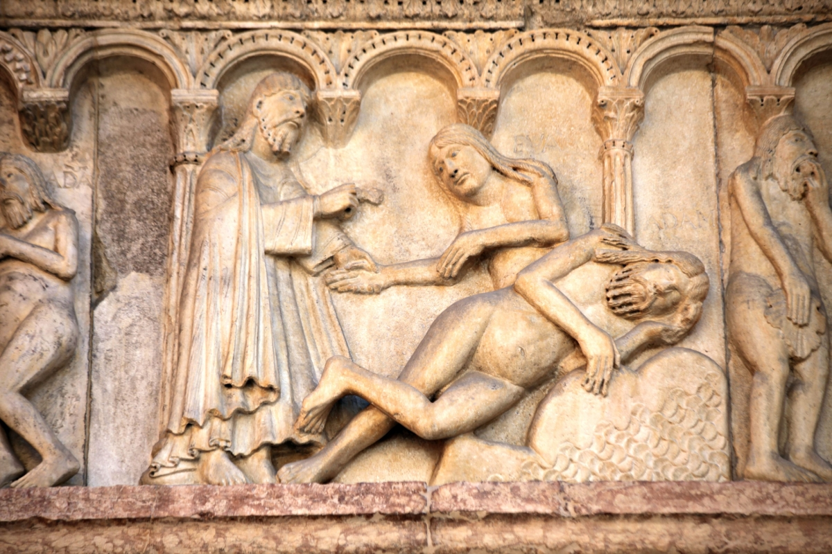 Creazione della donna di Wiligelmo 1 - Mongolo1984 - Modena (MO)