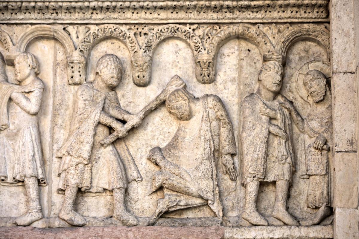 Caino e Abele di Wiligelmo 3 - Mongolo1984 - Modena (MO)