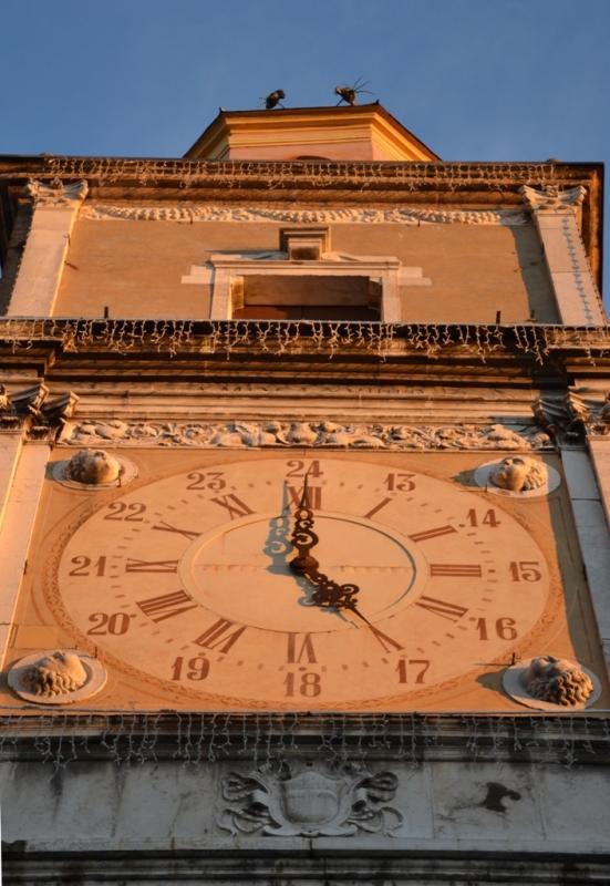 Palazzo Comunale - torre orologio al tramonto - Maxy.champ - Modena (MO)