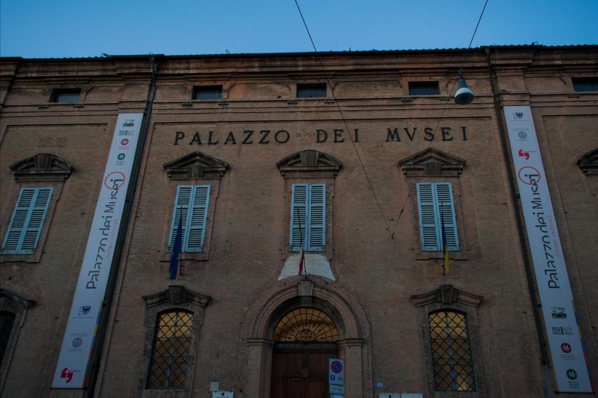 Facciata Palazzo dei musei - Alessandro mazzucchi - Modena (MO)