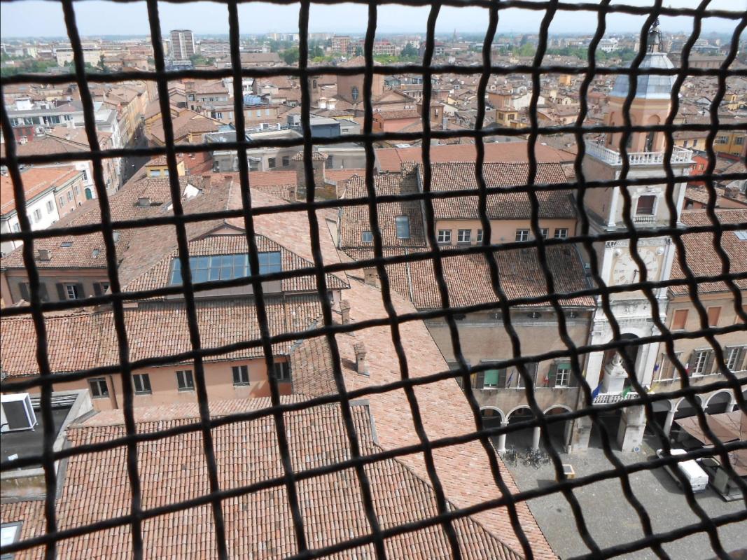 Torre Ghirlandina a Modena (veduta Palazzo Comunale) - Cristina Guaetta - Modena (MO)