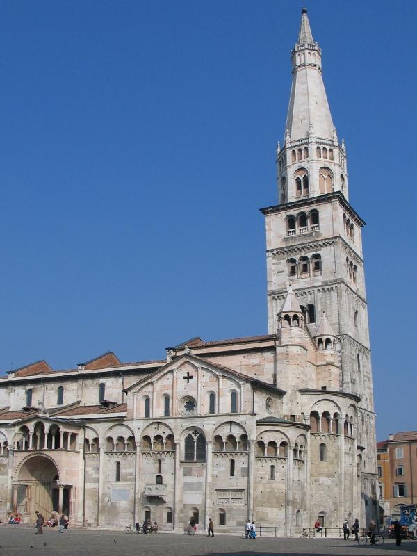 Emilia-Romagna Modena Duomo Abside e Ghirlandina - Biancamaria Rizzoli - Modena (MO)