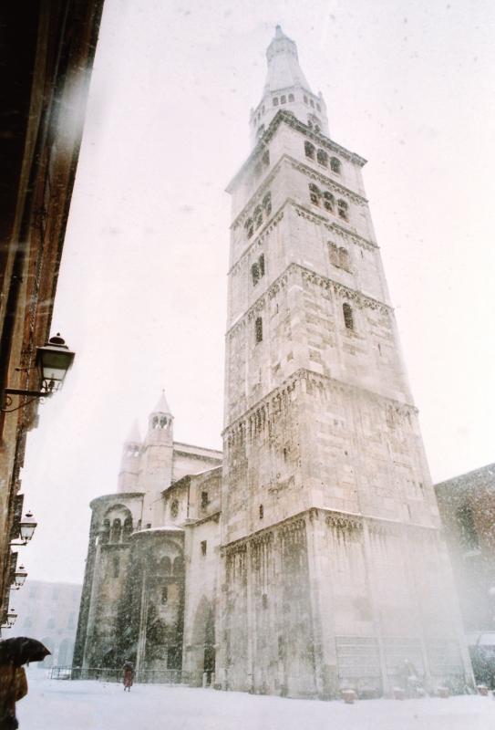 Ghirlandina con neve - Marcoc54 - Modena (MO)
