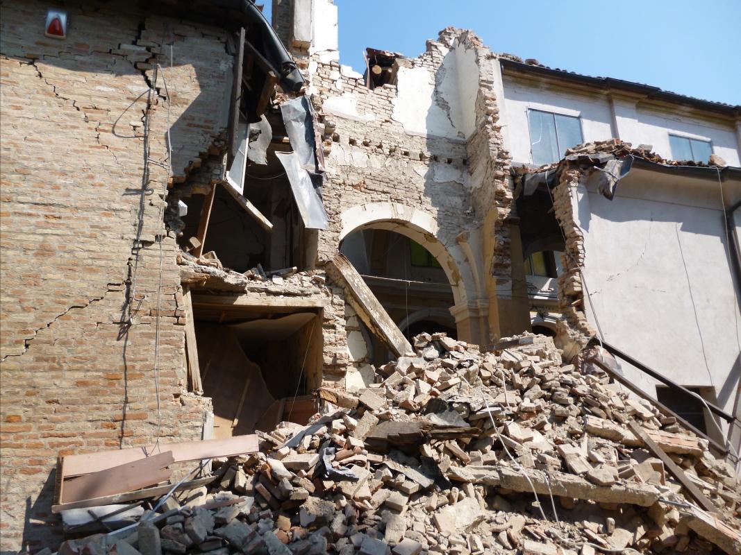 Danni terremoto 29-05-2012, Chiesa di San Giuseppe o Madonna del Mulino - San Felice sul Panaro - Mimmo Ferrari - San Felice sul Panaro (MO)