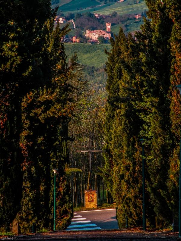 Dal Santuario di Puianello al Castello di Levizzano Rangone - Angelo nacchio - Castelvetro di Modena (MO)