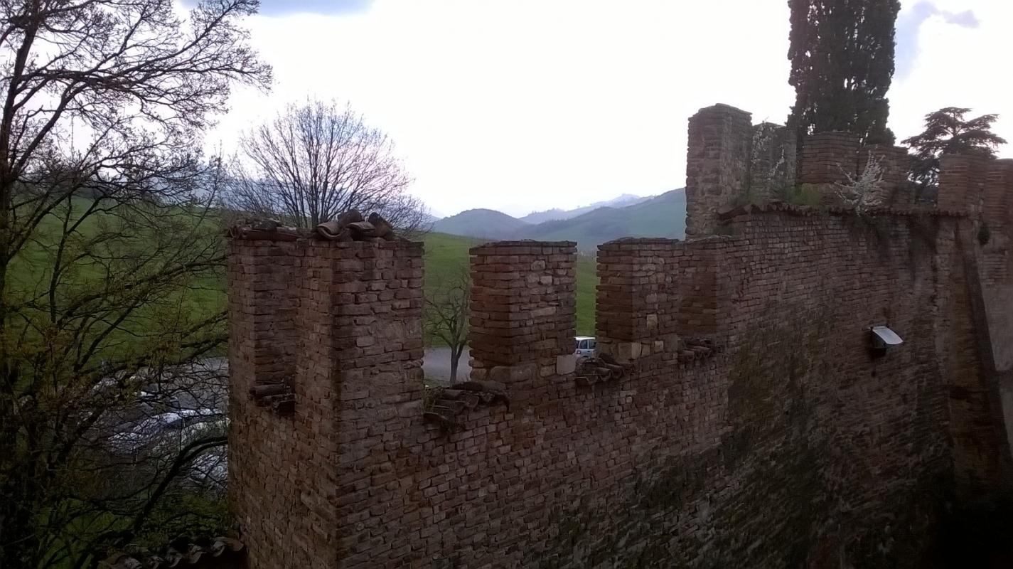 Merlatura del castello - Sbaraldi - Fiorano Modenese (MO)