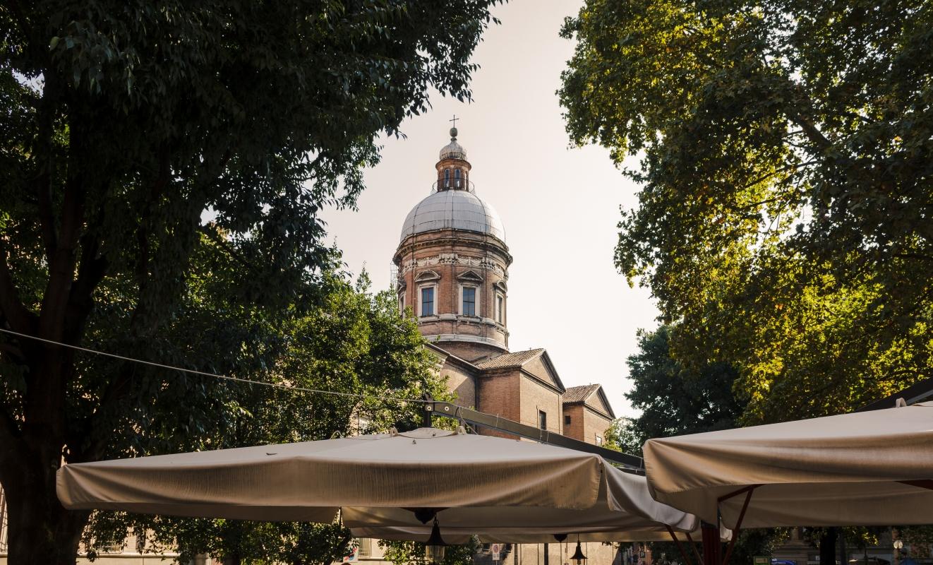 Chiesa del Voto, Modena, vista della cupola - Acnaibinidrat - Modena (MO)