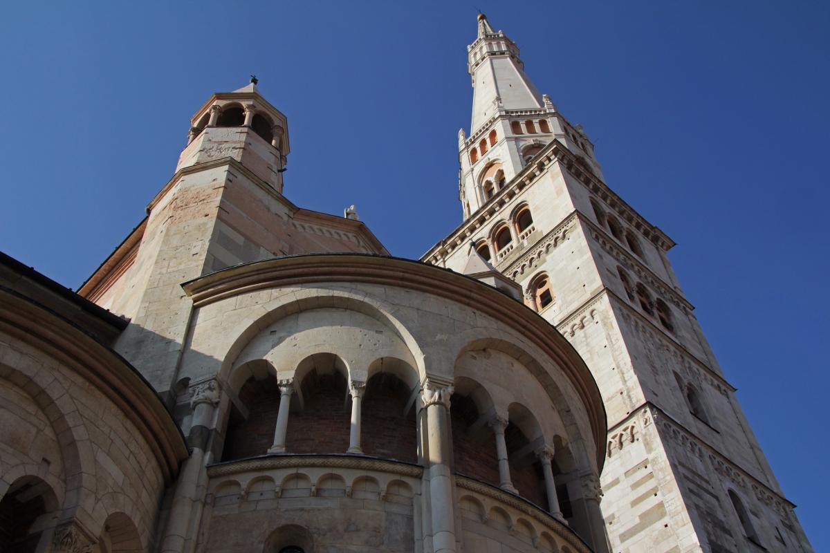 Torre Ghirlandina e Duomo di Modena 01 - Francesco Morelli - Modena (MO)