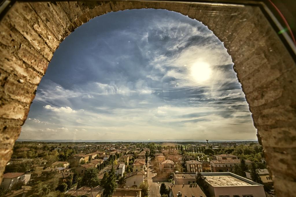 Panorama - Veduta dalla Torre dei Bolognesi - Giovanna molinari - Nonantola (MO)