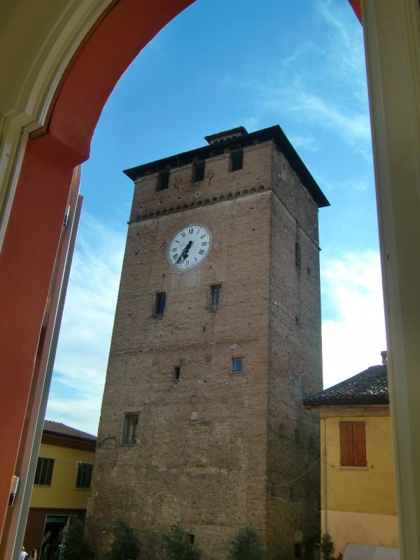 Torre dei Modenesi detta anche torre dell'orologio - 52AttilioRighi - Nonantola (MO)