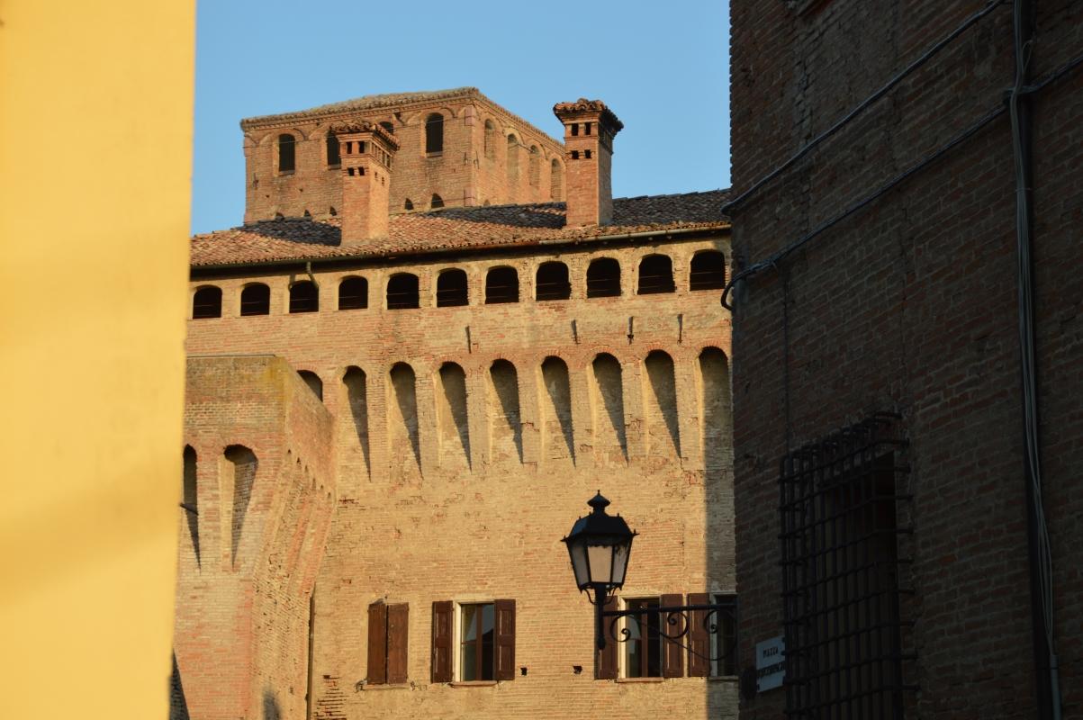 Rocca vista con il palazzo barozzi - Mauro Riccio - Vignola (MO)
