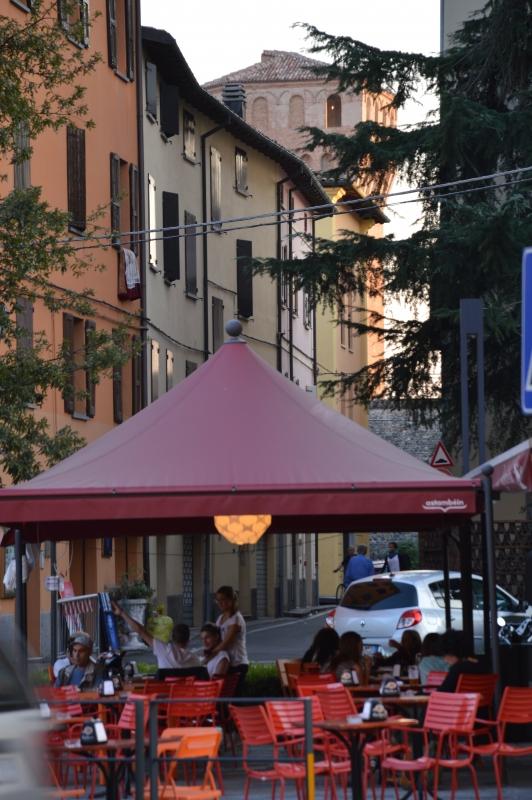 Torre di nonantola della Rocca di Vignola dal centro città - Mauro Riccio - Vignola (MO)